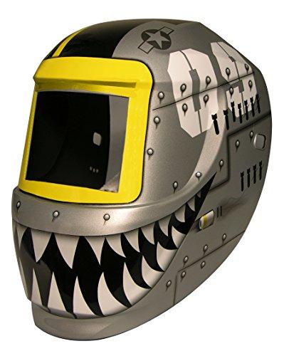 ArcOne 3-0171 Carrera Welding Helmet for 2000T, 1000F, 2500V, 4500V, 5000V, 5500V, 6000V, IDF48 Filters, Fighting Tiger