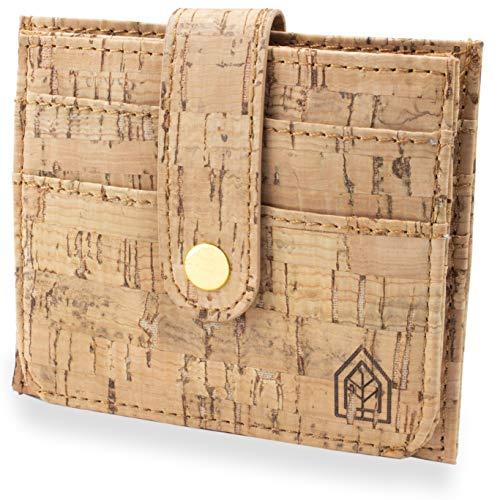 JOELWALLETS | Edition Kork, handgefertigte Geldbörse aus Kork - Kleiner und Leichter Geldbeutel [echtes Kork]