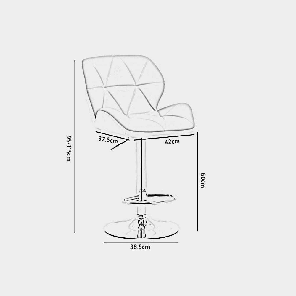 ZHANGRONG- Chaises de dossier à domicile European foreground lift high stool Tabouret de canapé (Couleur facultative) -Tabouret de canapé (Couleur : 10) 10
