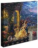 Thomas Kinkade Disney Beauty und The Beast Dancing in The