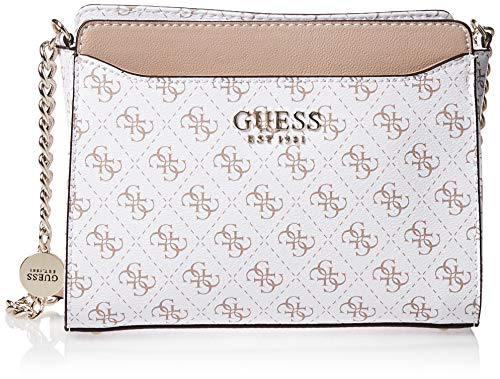 Guess Lorenna Crossbody Top Zip White
