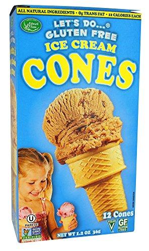 Let's Do - Gluten Free Ice Cream Cones - 1.2 oz (pack of 2)