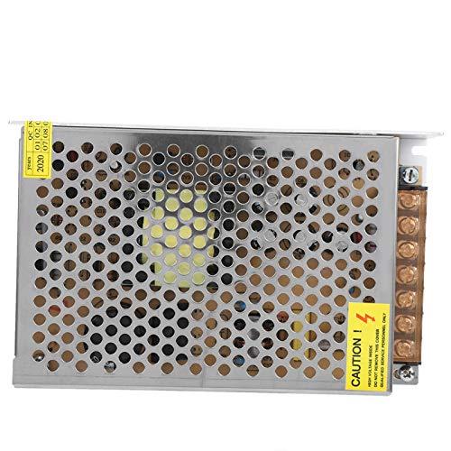 Transformador de fuente de alimentación estable Disipación de calor rápida LED Interruptor de fuente de alimentación seguro para ingeniería informática (12V8.5A (100W), Transl)