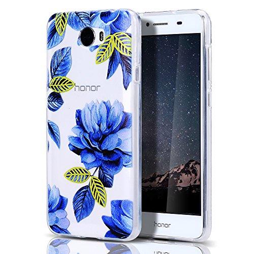Huawei Y5 II Hülle, CaseLover Ultradünner Transparenter Tasche Schutzhülle, Huawei Y6 II Compact/Huawei Y5 II (5,0