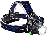 ZARPA (LABEL) Super Bright Headlamp Light | Rechargeable Head Torch | Hands Free