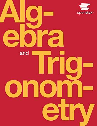 Algebra and Trigonometry (English Edition)