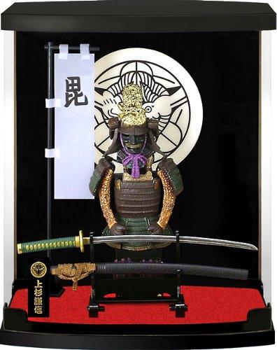 Auténtico Samurai Figura Japonés Histórico Decoración:#03- Uesugi, Armadura de la serie
