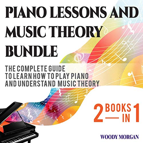 Piano Lessons and Music Theory Bundle audiobook cover art