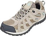 Columbia Redmond Waterproof, Chaussures de Randonnée Basses Femme, Beige (Pebble/Sky Blue), 39 EU