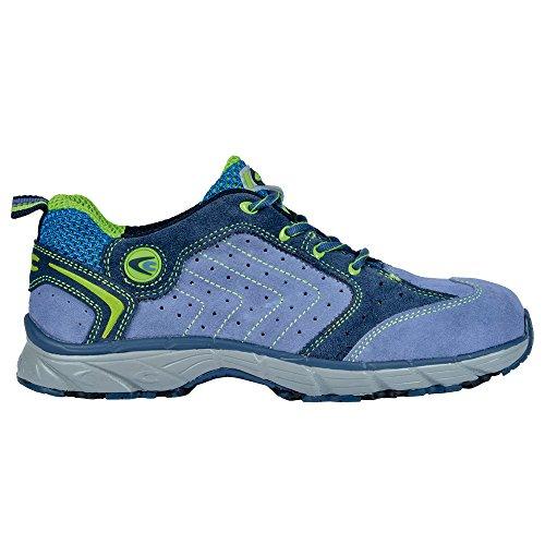 Cofra scarpe di sicurezza New TWISTER S1P Work Flying, lavoro scarpe taglia 39, colore blu, JV033–000