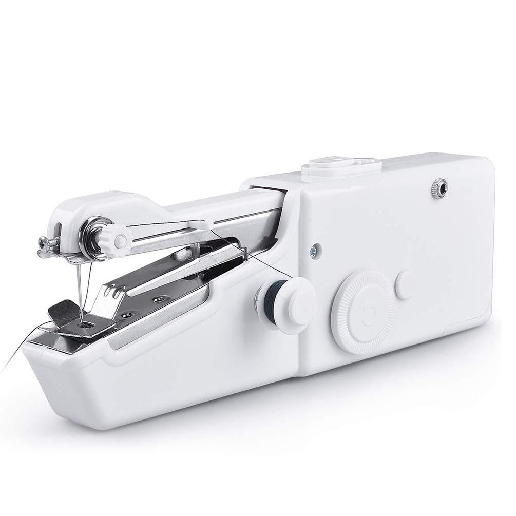 Gesteam Máquina de Coser a Mano O ación Fácil Compacto, Liviano, Portátil, Estable, Fuente de Batería, Diseños Fáciles de Usar Dispositivo de Costura para Coser: Amazon.es: Bricolaje y herramientas