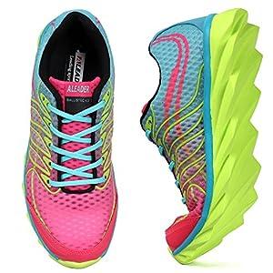 ALEADER Women's Running Shoes Fashion Walking Sneakers Pink 8 D(M) US