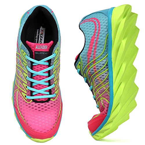 ALEADER Womens Breathable Running Shoes, Colorful Fashion...