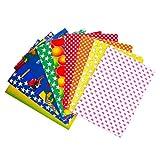 Milisten 10 Piezas de Hojas de Cartón Corrugado Papeles de Origami Coloridos Papel de Construcción Plegable para Niños Proyectos de Manualidades de Bricolaje