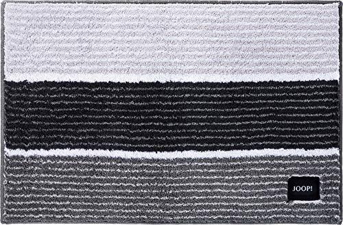 Joop! Badteppich Lines 286 Anthrazit - 069 50x60 cm