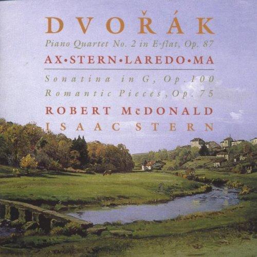 Dvorak: Klavierquartett Es-Dur Op. 87, Romantische Stücke für Violine und Klavier Op. 75, Sonatine G-Dur Op. 100