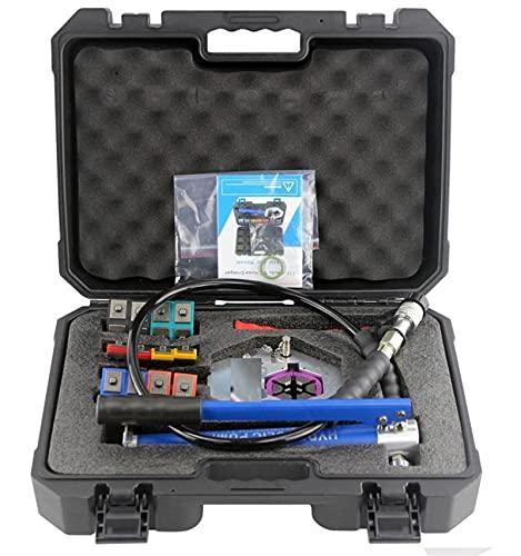 Tubo flessibile idraulico Crimper Manuale di crimper per tubi idraulici CORRENTE ALTERNATA Strumento di crimpatura per tubo flessibile per tubo...