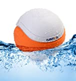 Ivation Waterproof Bluetooth Floating Speaker, White
