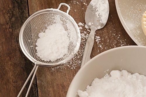 Puderzucker aus Erythritol Puder Puderzuckerersatz 0 Kalorien Zucker Ersatz VERSCHIEDENE GRÖßEN