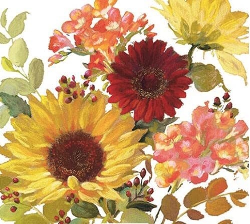 Jacksonville Mall Set of 2 Individual Decoupage FLOWERS Paper Napkins Gifts Party Waterc