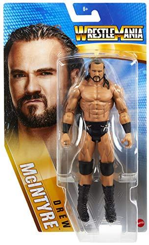 Ringside Drew McIntyre - WWE Series Wrestlemania 37 Mattel Toy Wrestling Action Figure
