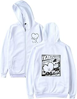 Boys Women Hoodies Sweatshirts with Zipper Ladies Harajuku Fashion Sweatshirt Women 4XL
