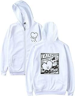 Boys Women Hoodies Sweatshirts with Zipper Ladies Harajuku Fashion Sweatshirt Women 4XL