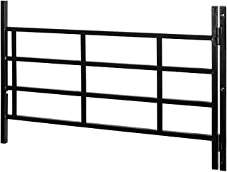 Defender Security SEGAL S 4771 Hinged Window Guard, 14-Inch - 22-Inch x 21, 4-Bar, Adjustable Width, EGRESS, Painted Black, Pack of 1