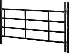 Prime-Line producten S 4775 scharnierende raambescherming, 22-inch - 38-inch breed door 21-inch hoog, 4 bar, zwart