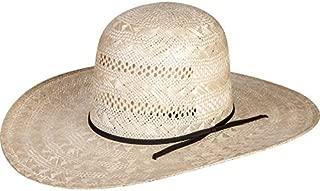RODEO KING Womens Rami Open Crown 4 1/2 Brim Straw Cowboy Hat