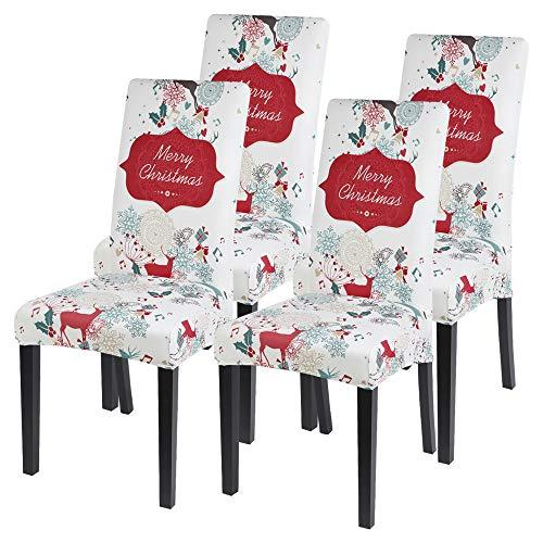 Fundas elásticas para asientos de silla: Terciopelo Jacquard.