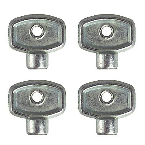 VARIOSAN Heizkörper Entlüftungsschlüssel 13965, 4 Stück, 5 mm, universal für jede Heizung