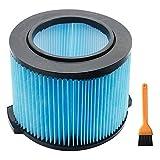 Haude Accesorios para Aspiradoras Reemplazo de Filtro para Ridgid VF3500 Tienda de Secado en Seco Filtro de Aspiradora Filtro Hepa de 3 Capas