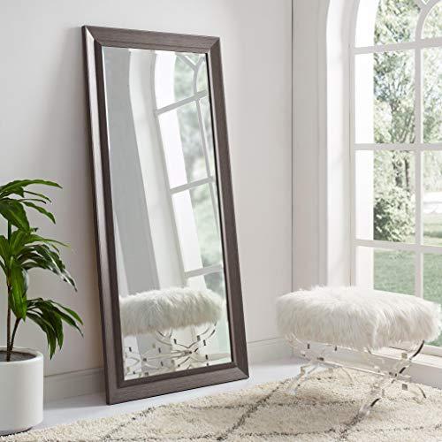 Naomi Home Framed Bevel Leaner Mirror Espresso/66 x -