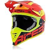 Casco de moto Cross Enduro Acerbis Profile 3.0 BlackMamba rojo/amarillo (XXL) unisex