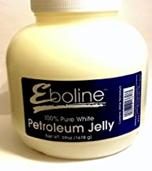 Huge 59 Ounce 100% petroleum jelly last an extremely long time Helps protect minor cuts, scrapes, and burns Protects skin from wind burn and chapping Reduces the appearance of fine, dry lines Hypoallergenic; contains no fragrance or irritants