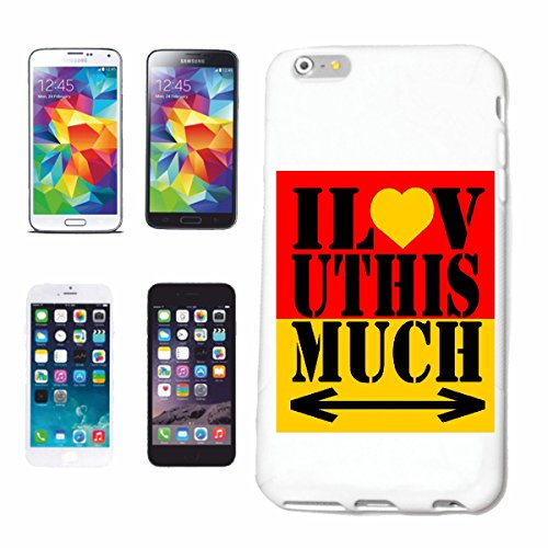 Reifen-Markt Funda para teléfono móvil compatible con iPhone 7+ Plus I Love UTHIS Much Lifestyle Fashion Street Wear Hip Hop Legendary Salsa Carcasa protectora para teléfono móvil Smart