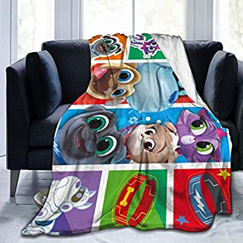 Puppy Dog lovely Pals Game Throw Blankets Lightweight Soft Flannel Bedding Blanket Bed Couch for Kids/Adults,50 X40
