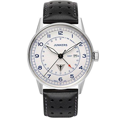 Junkers Reloj de Pulsera analógico Cuarzo Piel 6946–3