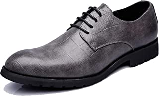 Men's Business Oxford Everyday Fashion Hot Style Pointed British Style Conventional Shoes casual shoes (Color : Gray, Size : 41 EU)