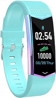 ZJ Nuevo Smart Fitness Bracelet Hombres Mujeres Smart Watch Fitness Tracker Monitor De Ritmo Cardíaco Presión Arterial Banda De Podómetro Impermeable