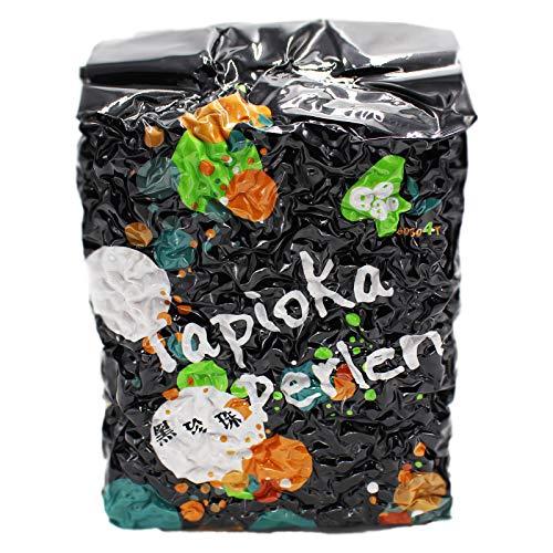 3kg XXL Packung Schwarze Tapioka Perlen (Papa Vo®)