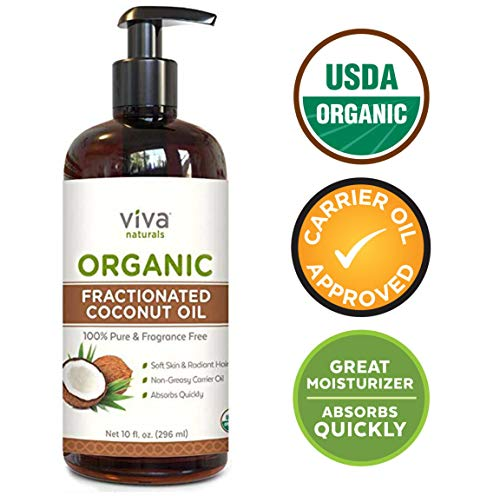 Organic Fractionated Coconut Oil - Amazing...