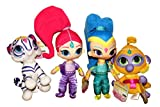 Shimmer and Shine with Tala and Nahal ~ 8 Inch Shimmer Plush Set of 4 Dolls