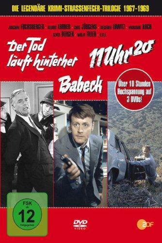 ZDF-Krimi-Straßenfeger-Box: Der Tod läuft hinterher/Babeck/11 Uhr 20 (3 DVDs)