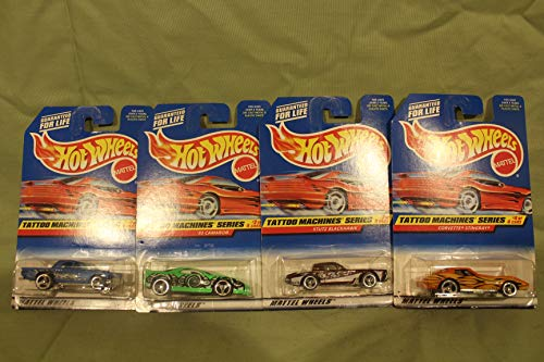 1997 HOT WHEELS TATTOO MACHINES SERIES-COMPLETE SET by Hot Wheels