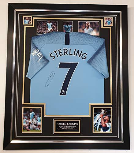 Raheem Stirling signiertes Trikot