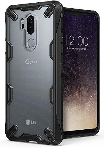 Ringke LG G7 Hülle/LG G7 ThinQ Schutzhülle, [Fusion-X] Ultra Robustes Design für G7 Handyhülle Hart PC Flexibel TPU Rüstung Panzer Schwere Verteidigung für LG G7 Panzerhülle Case Cover - Schwarz
