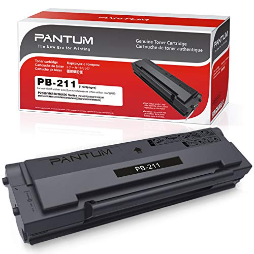 Pantum PB-211 Black Toner Cartridge Compatible...