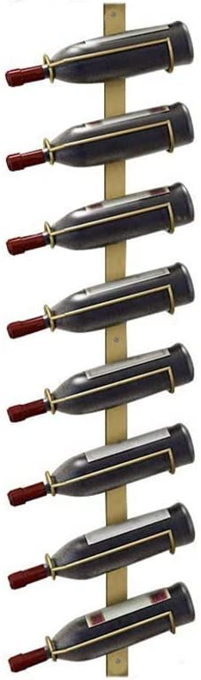 Bar Red Wine Rack Max 56% OFF Wrought Hanging Luxury Iron Expandable Wall